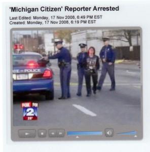 Diane Bukowski arrest Nov. 4